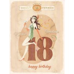 Karnet Vintage 18-te...