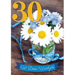 Karnet 3D na 30 urodziny...