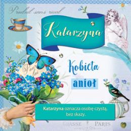 Karnet Imiennik Katarzyna...