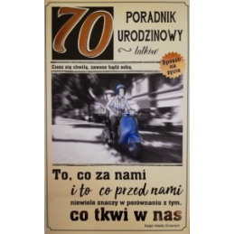 Kartka Poradnik urodzinowy...