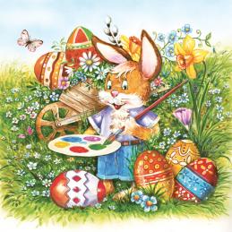 Serwetki DAISY Rabbit Painter