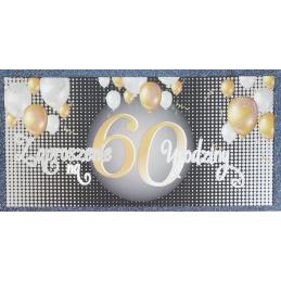 Zaproszenie na 60 urodziny...