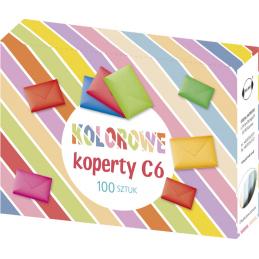 Koperty kolorowe C6 op....