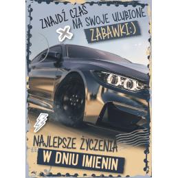 Karnet imieninowy GM /Armin...