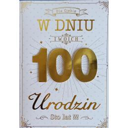 Karnet GM na 100 urodziny...