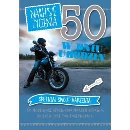Karnet GM na 50 urodziny...