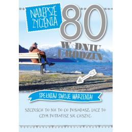 Karnet GM na 80 urodziny...