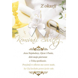 Karnet komunijny DLX /DK Card/