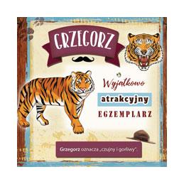 Karnet Imiennik Grzegorz...