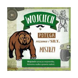 Karnet Imiennik Wojciech...