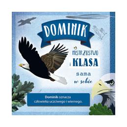 Karnet Imiennik Dominik...