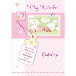 Karnet na narodziny dziecka...