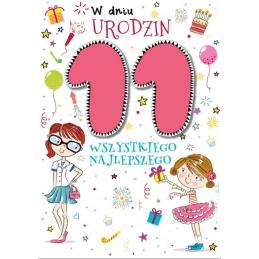 Karnet PR na 11 urodziny...
