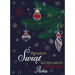 Kartka świąteczna zapachowa...