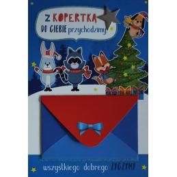 Karnet świąteczny z...