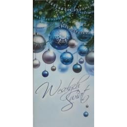 Karnet świąteczny DL...