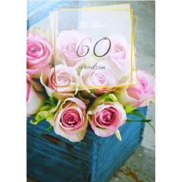 Karnet na 60 urodziny...
