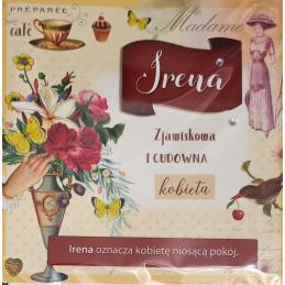 Karnet Imiennik Irena...