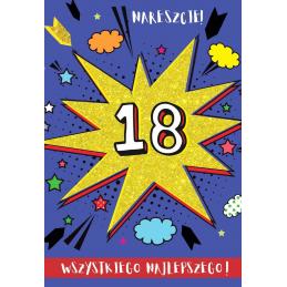 Karnet FLESZ 18-te urodziny...