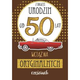 Karnet FLESZ 50-te urodziny...