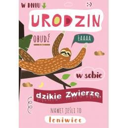 Karnet urodzinowy FLESZ...