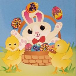 Kartka wielkanocna Easter...