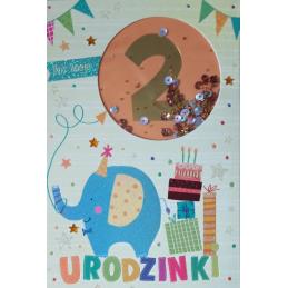 Karnet na 2 urodziny /Pan...