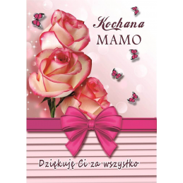 Karnet B6 Kochana Mamo /DK...