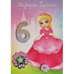 Karnet urodzinowy z cyferką...